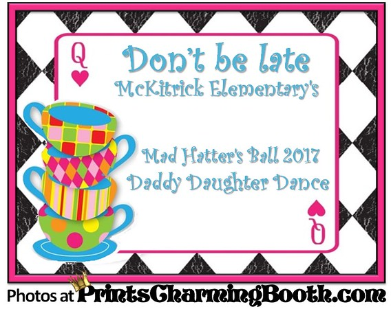 2-3-17 Mad Hatters Ball McKitrick Elementary logo