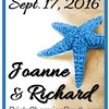 9-17-16 Joanne and Richard Wedding logo