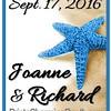 9-17-16 Joanne and Richard Wedding logo