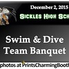 12-2-15 Sickles High School Swim and Dive Banquet logo