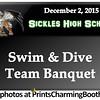 12-2-15 Sickles High School Swim and Dive Banquet logo
