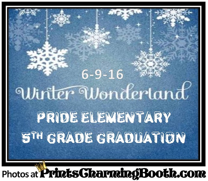 6-9-16 Pride Elementary Winter Wonderland logo