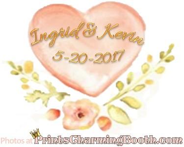 5-20-17 Ingrid & Kevin Wedding logo