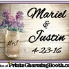 4-23-16 Mariel and Justin Wedding logo