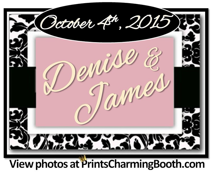 10-4-15 Denise and James Wedding logo - Ver  1