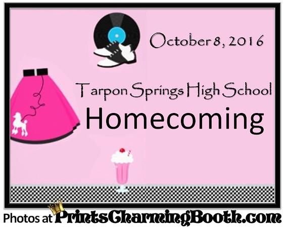 10-8-16 Tarpon Springs High School Homecoming logo