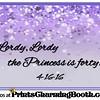 4-16-16 Lordy Lordy The Princess Turns 40 logo