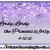 4-16-16 Lordy Lordy The Princess Turns 40 logo