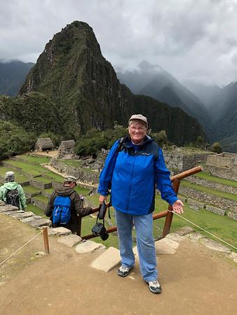 At Machu Picchu, 2017