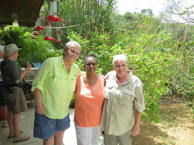 Jana, Bernadette and Cindy in Trinidad