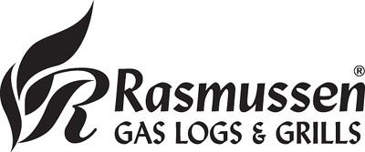 Rasmussen Gas Logs & Grills Logo - BW