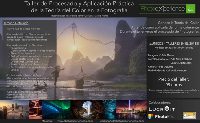 Talleres Px4U 2018 - Aplicación Práctica de la Teoría del Color en Fotografía