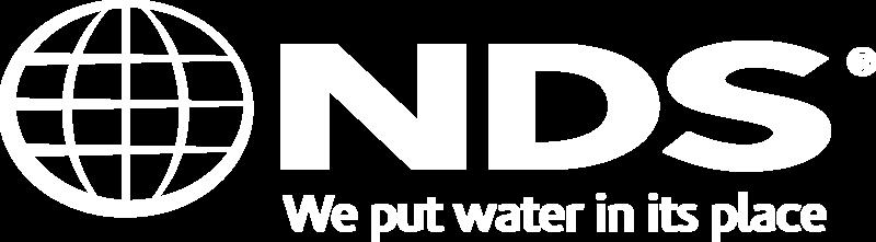 NDS Logo - Tagline - White