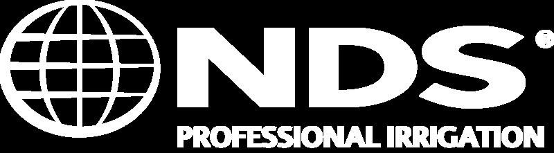 NDS Logo - Pro Irrigation - White