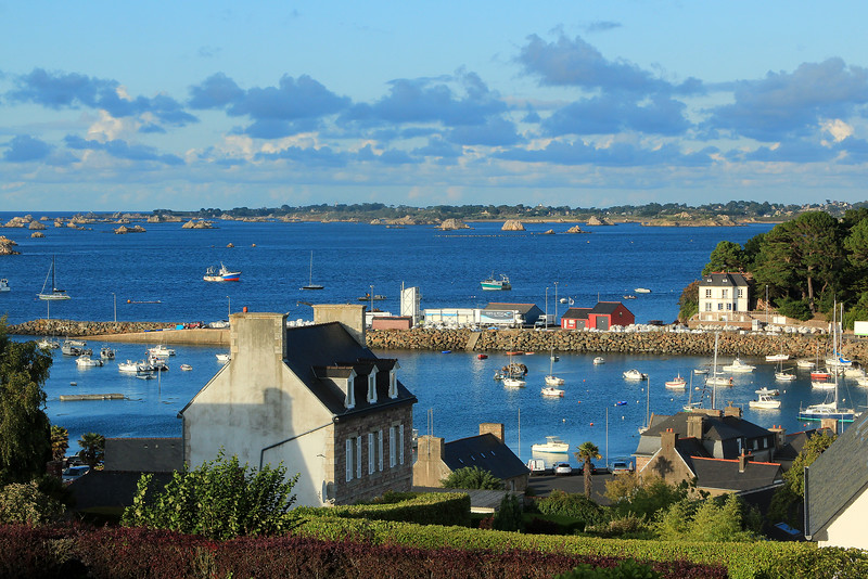 Harbour of Loguivy  -  Brittany  /  Port de Loguivy  - Bretagne  -  France