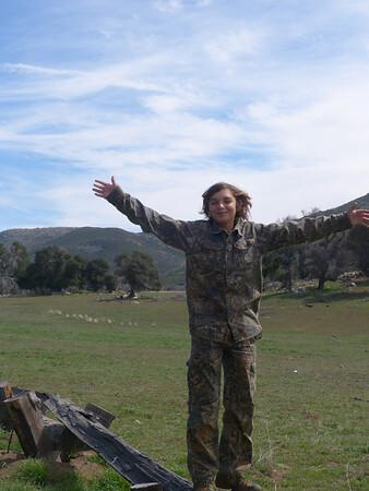 Julian on a day trip, 2013