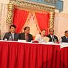 Lok Sabha  speaker Sumitra Mahajan speaking at a community reception at Albert Palace in NJ on 16 Nov-2014...pic Mohammed Jaffer-SnapsIndia