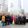 Sumitra Mahajan  Lok Sabha Speaker and her delegation paid tribute at the 9-11 memorial at ground zero on 16 Nov-2014...pic Mohammed Jaffer-SnapsIndia