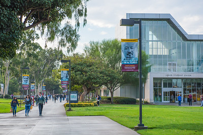 California State University Dominguez Hills campus, campus life and campus architecture Loker Student Union