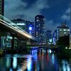 Tokyo (Minato Ku) - River by night