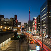 Tokyo (Hamamatsucho) - Tokyo Tower by night