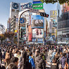 Tokyo (Shibuya) - Shibuya's cossroads