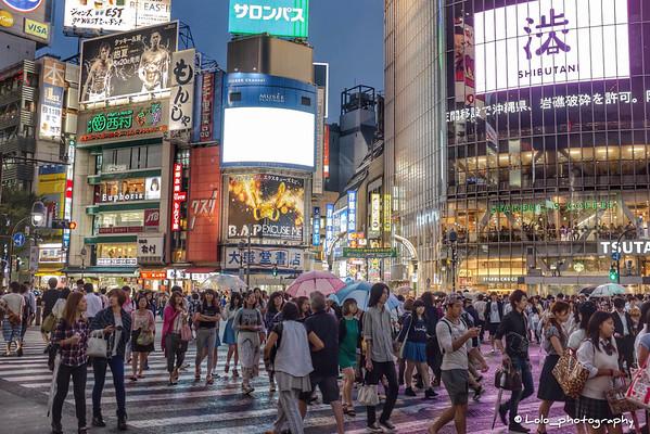 Tokyo (Shibuya) - Shibuya's crossroads