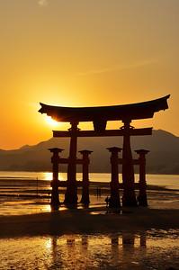 Miyajima - Torii gate