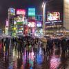 Tokyo (Shibuya) - Shibuya under the rain