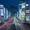 Tokyo (Shinjuku) - Railways of lights