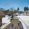 Shirakawa (Shirakawa) - Snow and houses