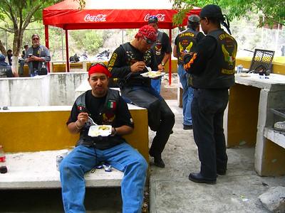 Almuerzo en Hidalgo