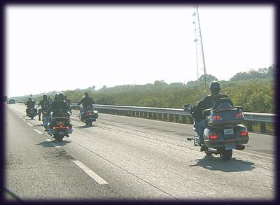Members cruising down South