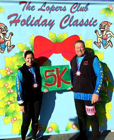 Loma Linda Holiday Classic 5K Run, Loma Linda CA December 2, 2018