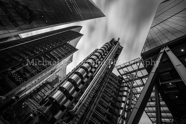 Lloyds Building, London Financial District
