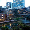 The famous Barbican apartment complex. City of London.