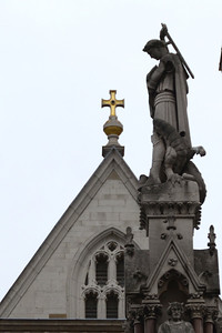 Statue outside Westminster Abbey
