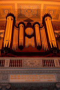 Pipe Organ in the chapel of the Royal Navel College in Greenwich
