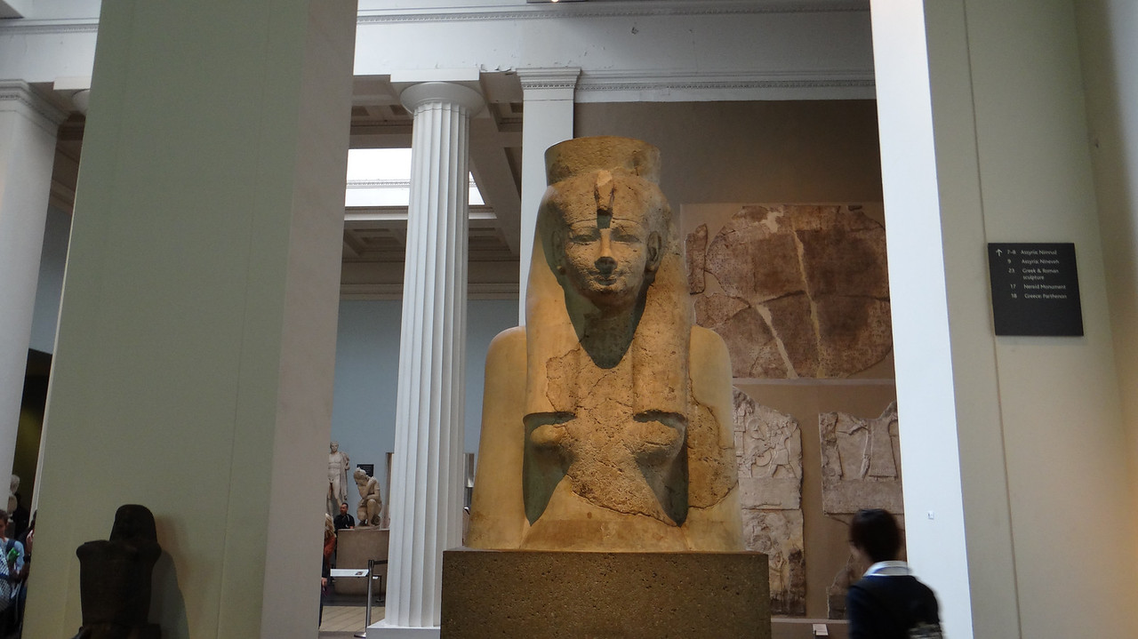 Egyptian statuary, British Museum