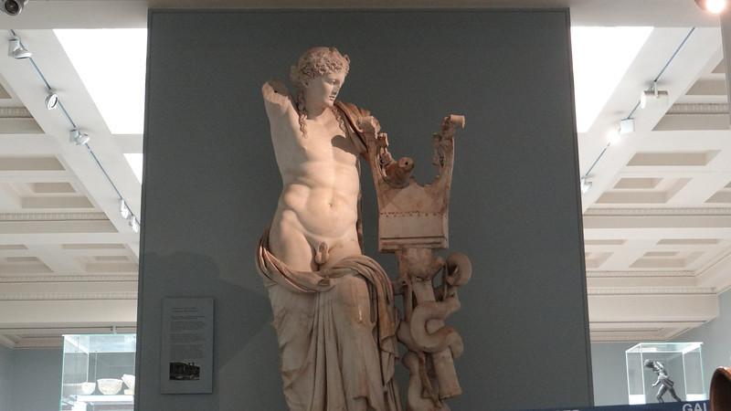 Grecian sculpture, British Museum