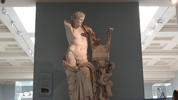 Grecian sculpture, British Museum