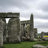 Stonehenge with Rapeseed Blooming in the Distance