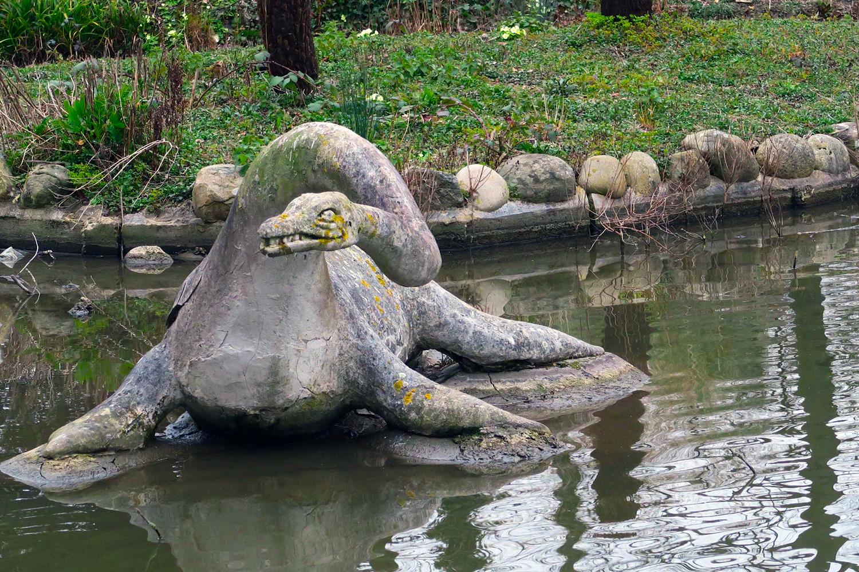 dinosaurs crystal palace park