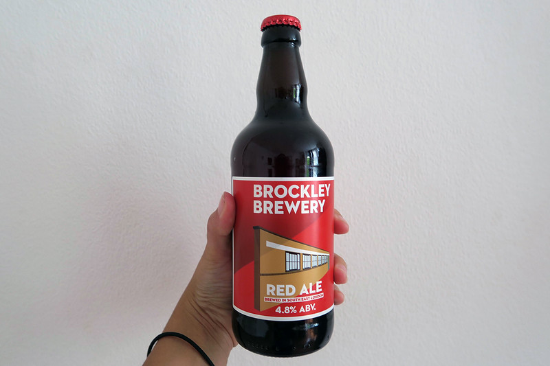 brockley beer bottle