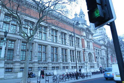 V&A from the street