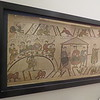Photo (hand colored print) of a section of the Bayeux Tapestry E.573:17-2005