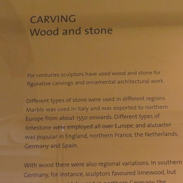Wood & Stone info card