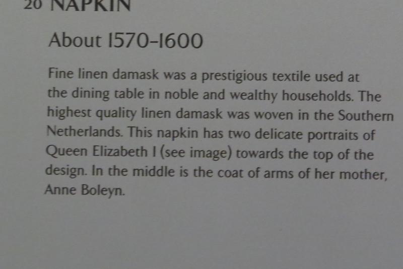Napkin T.215-1963 information card