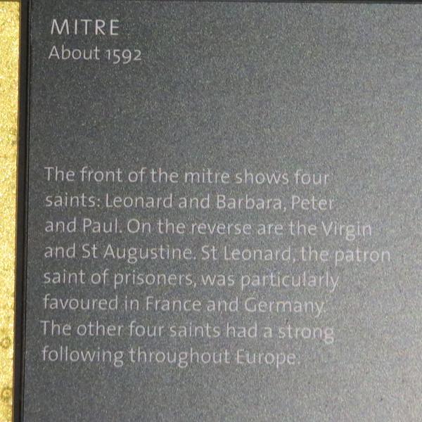 Mitre info card 203-1881