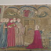 Embroidered pane with the death of blessed Verdiana Attavanti 4216-1857